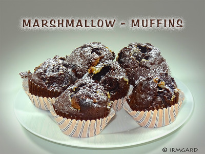marsmallow muffins rezept rezepte auf. Black Bedroom Furniture Sets. Home Design Ideas