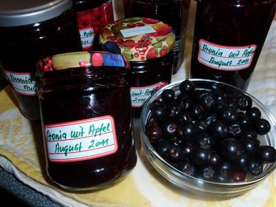 aronia apfel marmelade rezept rezepte auf