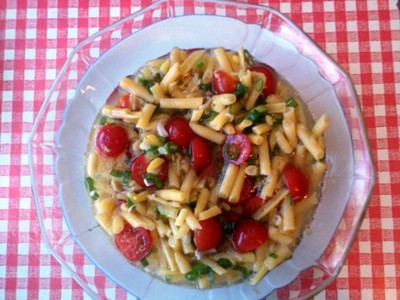 Wachsbohnensalat  Rezept