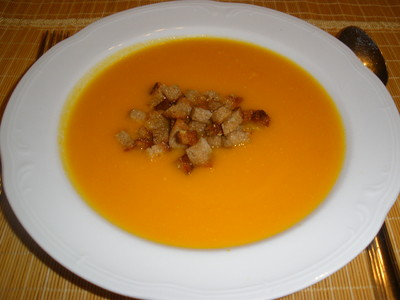 Karotten  Ingwer Suppe Rezept