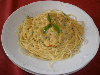 Spaghetti mit Zucchinisoße Rezept