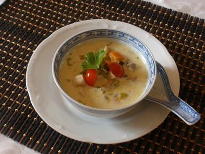 Chinesische Gemüsesuppe Rezept