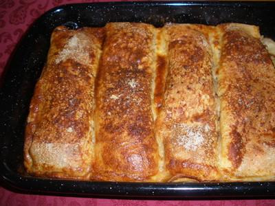Überbackene Palatschinken Rezept