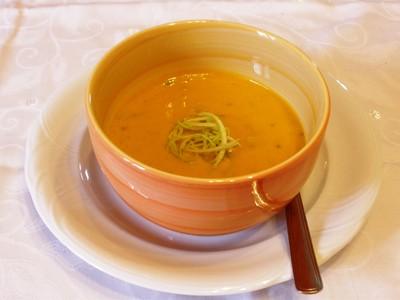 Kürbis - Apfel - Kren - Suppe Rezept