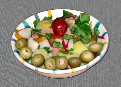 Olivensalat Rezept