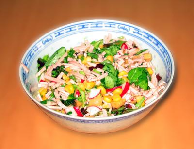 Vogerlsalat mit Extrawurst Rezept