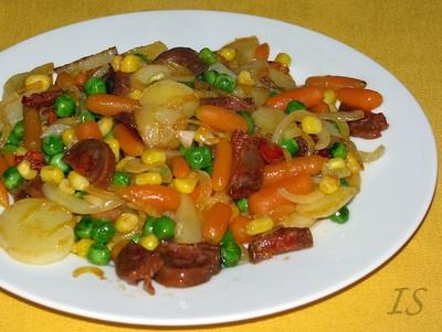 Feine Gemüsepfanne Rezept