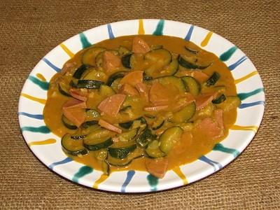 Zucchini-Gulasch Rezept