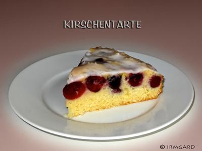 Kirschentarte Rezept