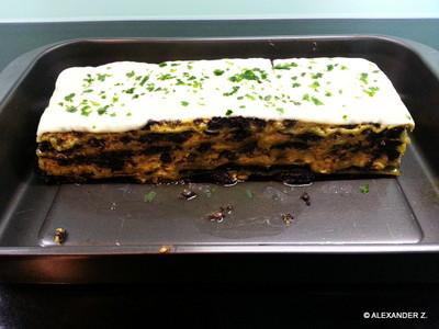 Blutwurst-Lasagne Rezept