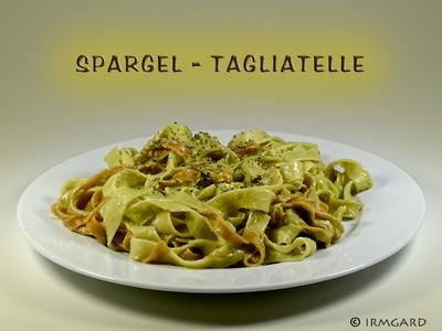 Spargel-Tagliatelle Rezept