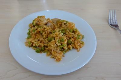 Safranreis mit Hühnchen im Kenwood-Cooking-Chef Rezept