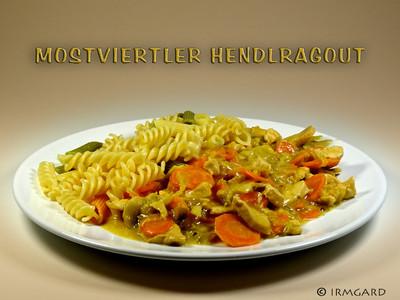 Mostviertler Hendlragout Rezept