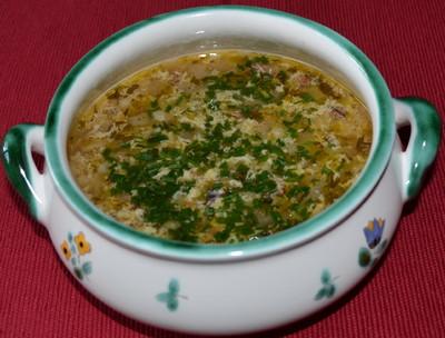 Selchsuppe mit Rollgerste Rezept