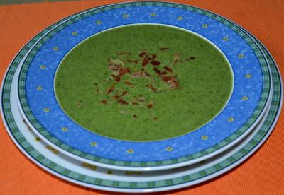 Spinat-Suppe Rezept