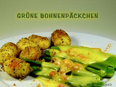 Grüne Bohnenpäckchen Rezept
