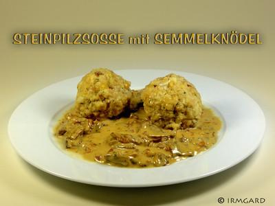 Steinpilzsosse Rezept