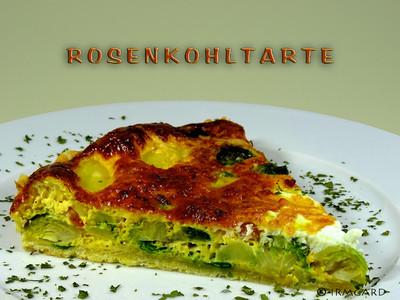Rosenkohltarte Rezept