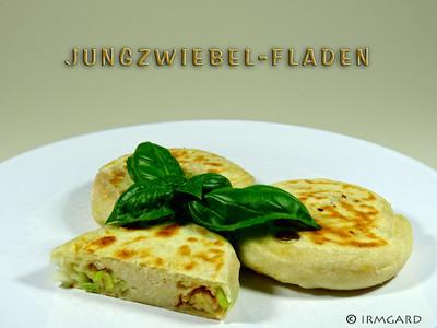 Jungzwiebel-Fladen Rezept