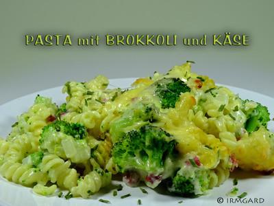 Pasta mit Brokkoli und Käse Rezept