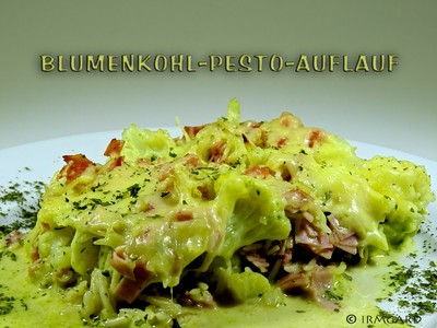 Blumenkohl-Pesto-Auflauf Rezept