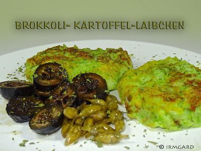 Brokkoli-Kartoffel-Laibchen Rezept