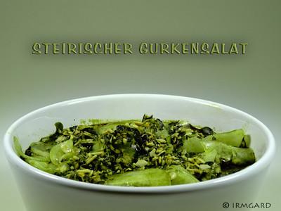 Steirischer Gurkensalat Rezept
