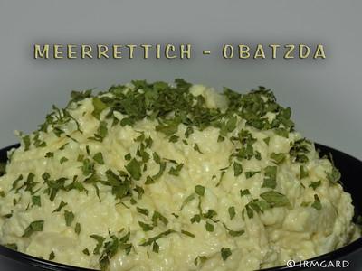 Meerrettich-Obatzda Rezept