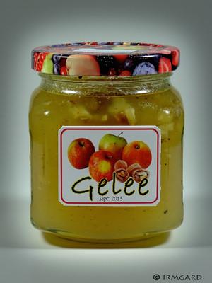 Apfel-Walnuss-Gelee Rezept