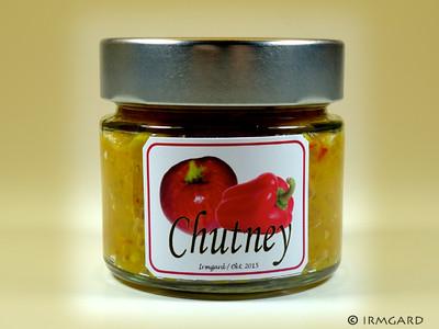 Paprika-Apfel-Chutney Rezept