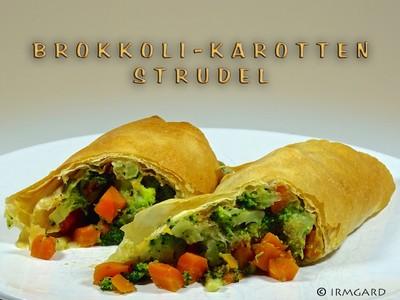 Brokkoli-Karotten-Strudel Rezept
