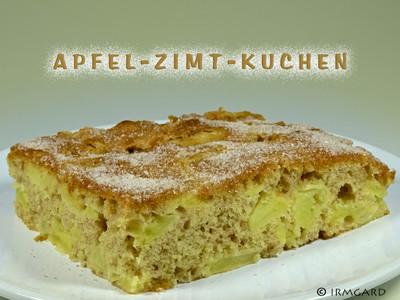 Apfel Zimt Kuchen Rezept Rezepte Auf Kochecke At