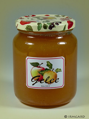 Quitten-Apfel-Gelee Rezept