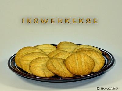 Ingwer-Kekse  Rezept