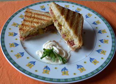 The Reuben Sandwich Rezept