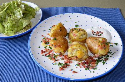 Gefüllte Kartoffeln Rezept