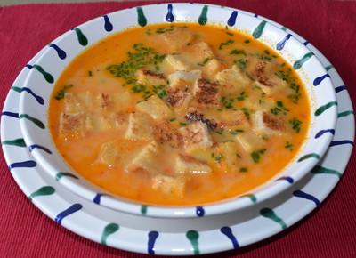 Paprika-Ingwersuppe Rezept