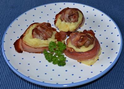 Fischerl mit Speck im Kartoffelnest Rezept
