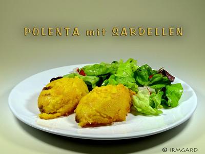 Polenta mit Sardellen Rezept