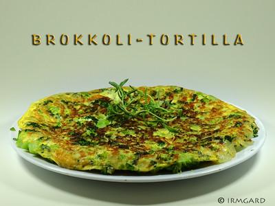 Brokkoli-Tortilla Rezept
