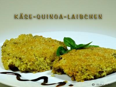 Käse-Quinoa-Laibchen Rezept