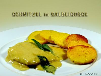 Schnitzel in Salbeisosse Rezept