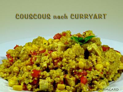 Couscous nach Curryart Rezept