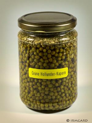Grüne Holunder-Kapern Rezept