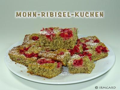 Mohn-Ribisel-Kuchen Rezept