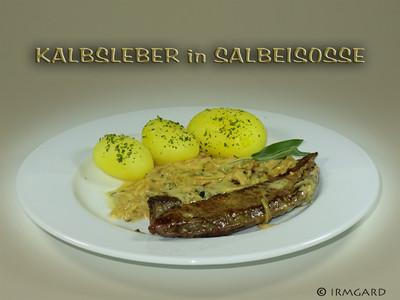 Kalbsleber in Salbeisosse Rezept