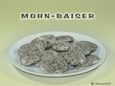 Mohnbaiser Rezept