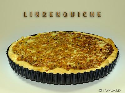 Linsenquiche Rezept
