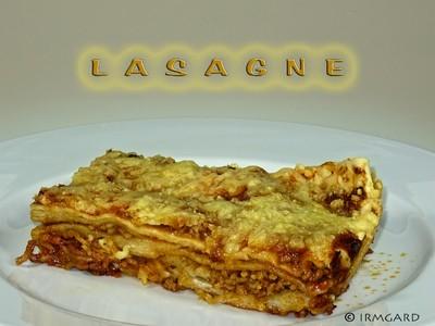 Lasagne ohne Bechamelsosse Rezept