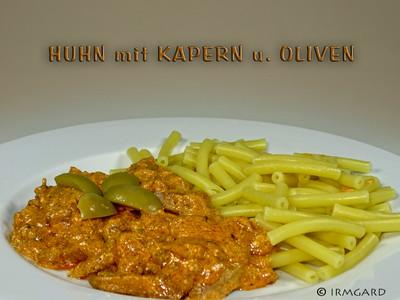 Huhn mit Kapern und Oliven Rezept